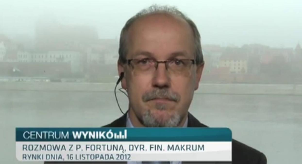 Piotr Fortuna gościem TVN CNBC
