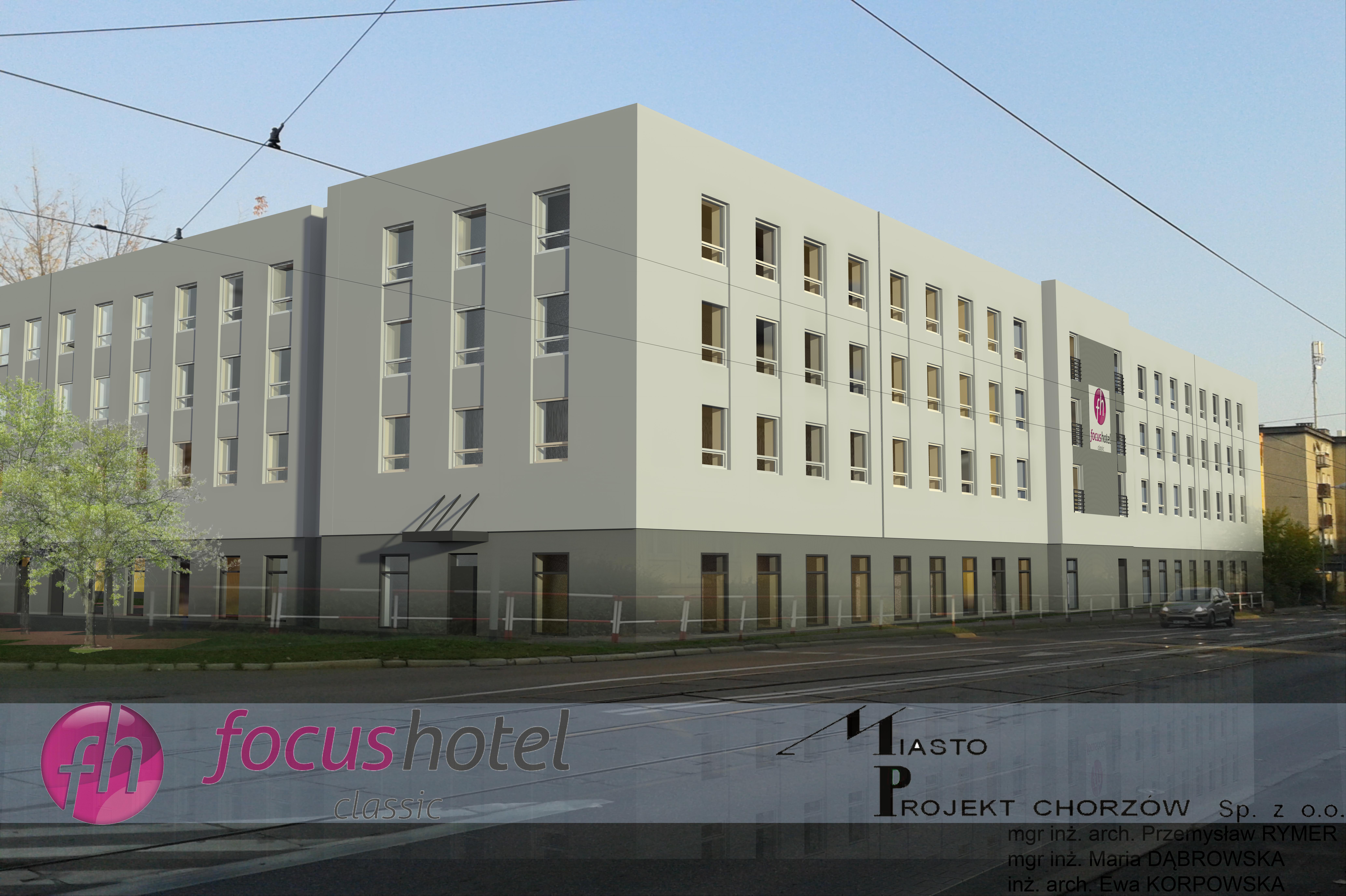 Jak będzie wyglądał hotel w Chorzowie?