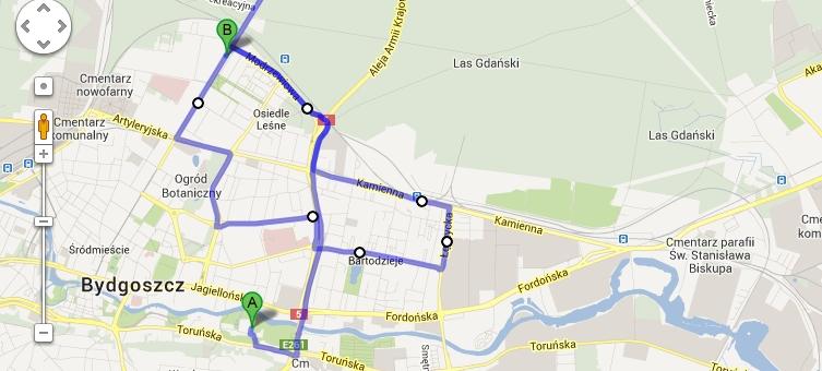 Przejedź się przez Bydgoszcz z MAKRUM