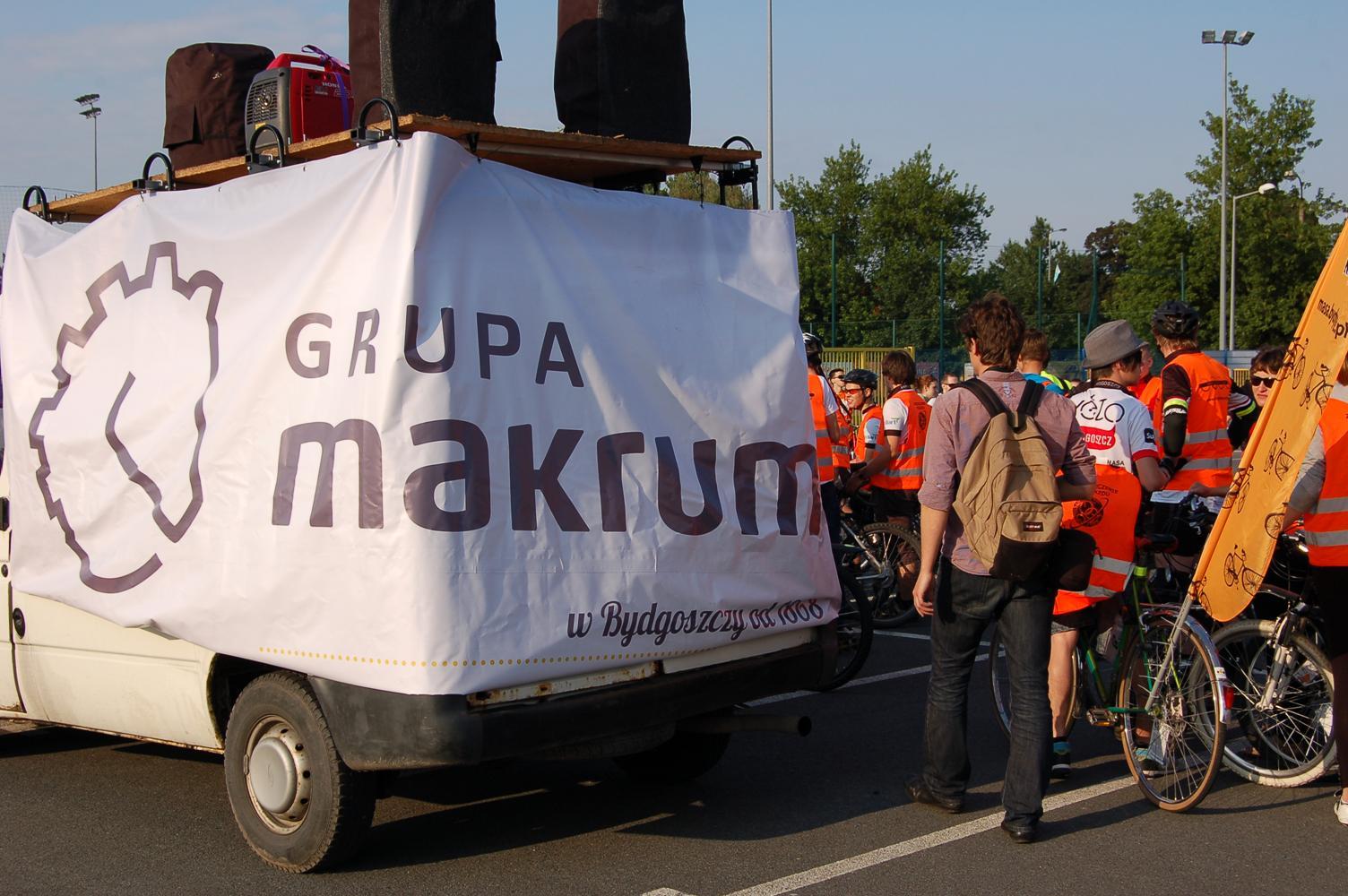 MAKRUM integruje rowerzystów i rolkarzy