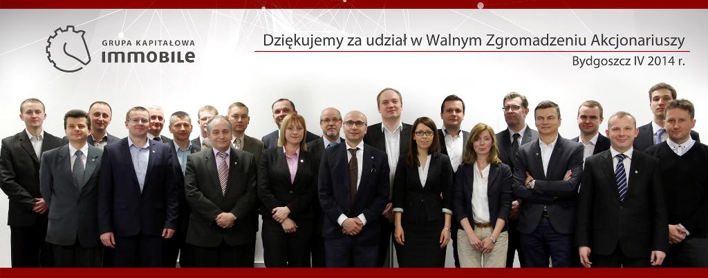 Walne Zgromadzenie Akcjonariuszy – 28 kwietnia 2014