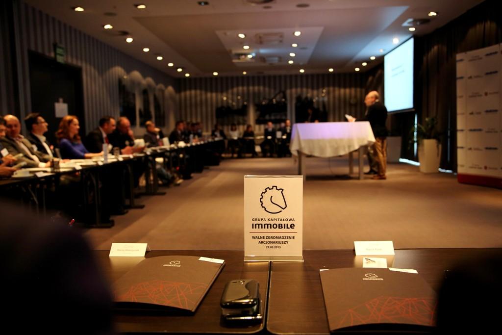 Walne Zgromadzenie Akcjonariuszy Grupy Kapitałowej IMMOBILE S.A.
