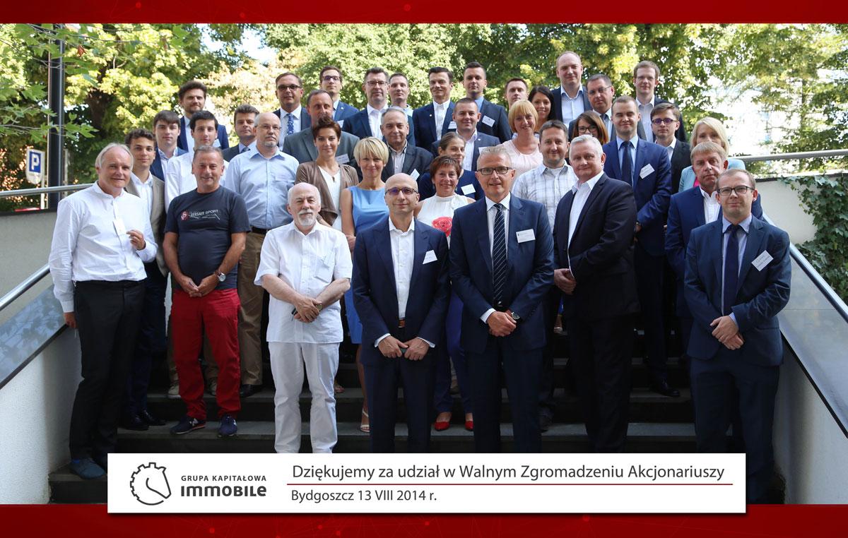 Walne Zgromadzenie Akcjonariuszy – 13.08.2015 r.