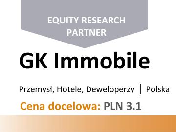 Vestor DM podniósł cenę docelową akcji GK IMMOBILE do 3,1 zł