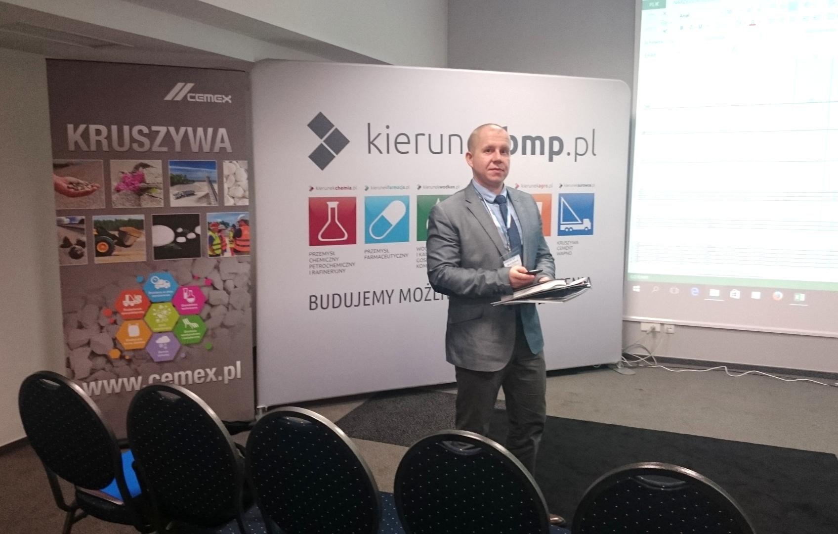 MAKRUM na Sympozjum Kruszywa Cement Wapno w Bełchatowie