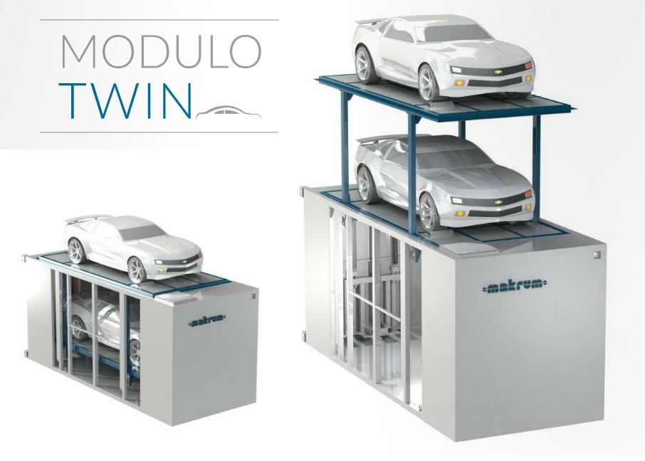 Prezentacja trzech modeli parkingów automatycznych serii ModuloMulti