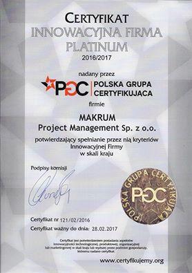 Najnowsze sukcesy spółki Makrum Project Management