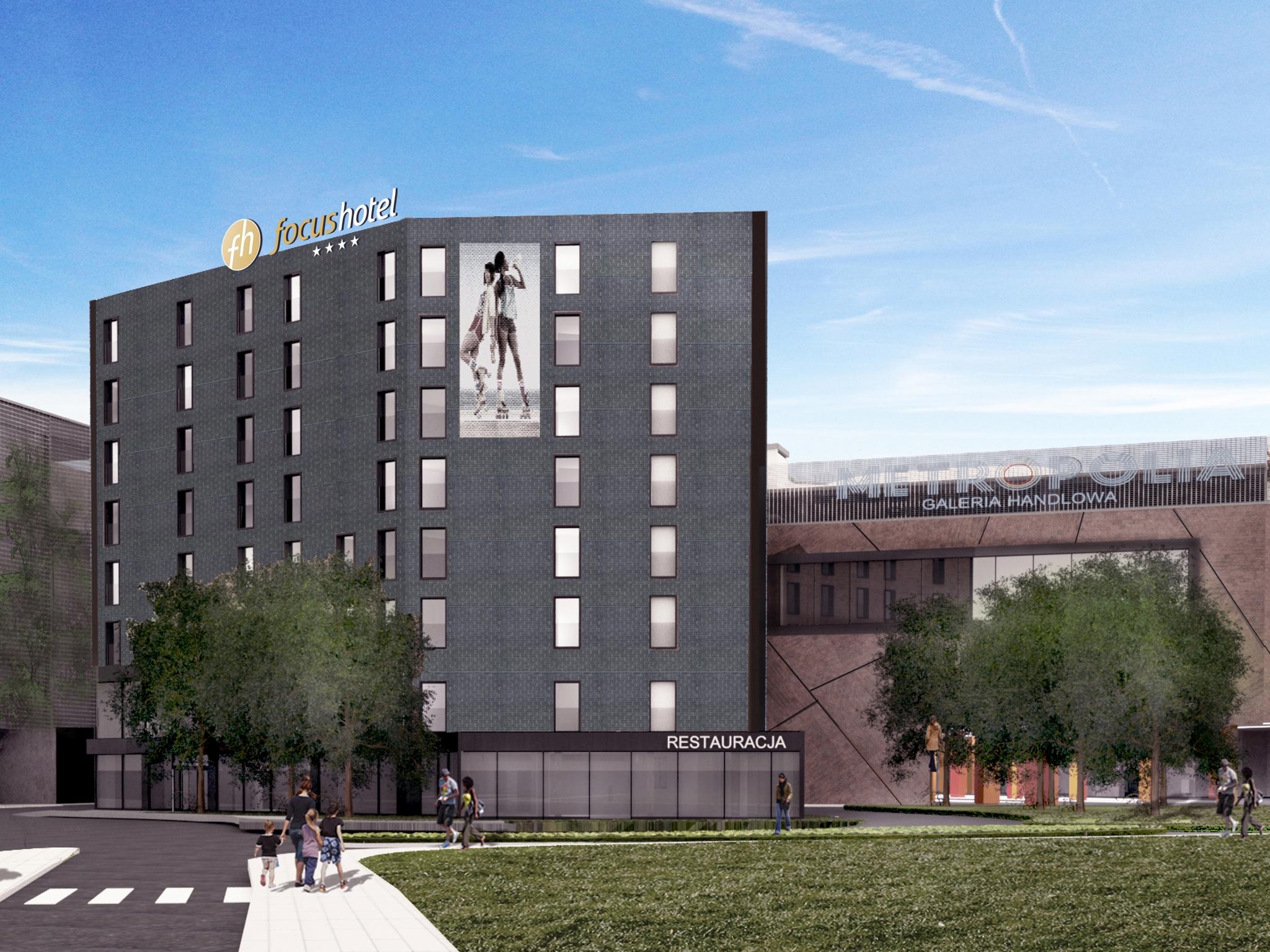 Już w czerwcu otwarcie nowego hotelu Focus w Gdańsku!