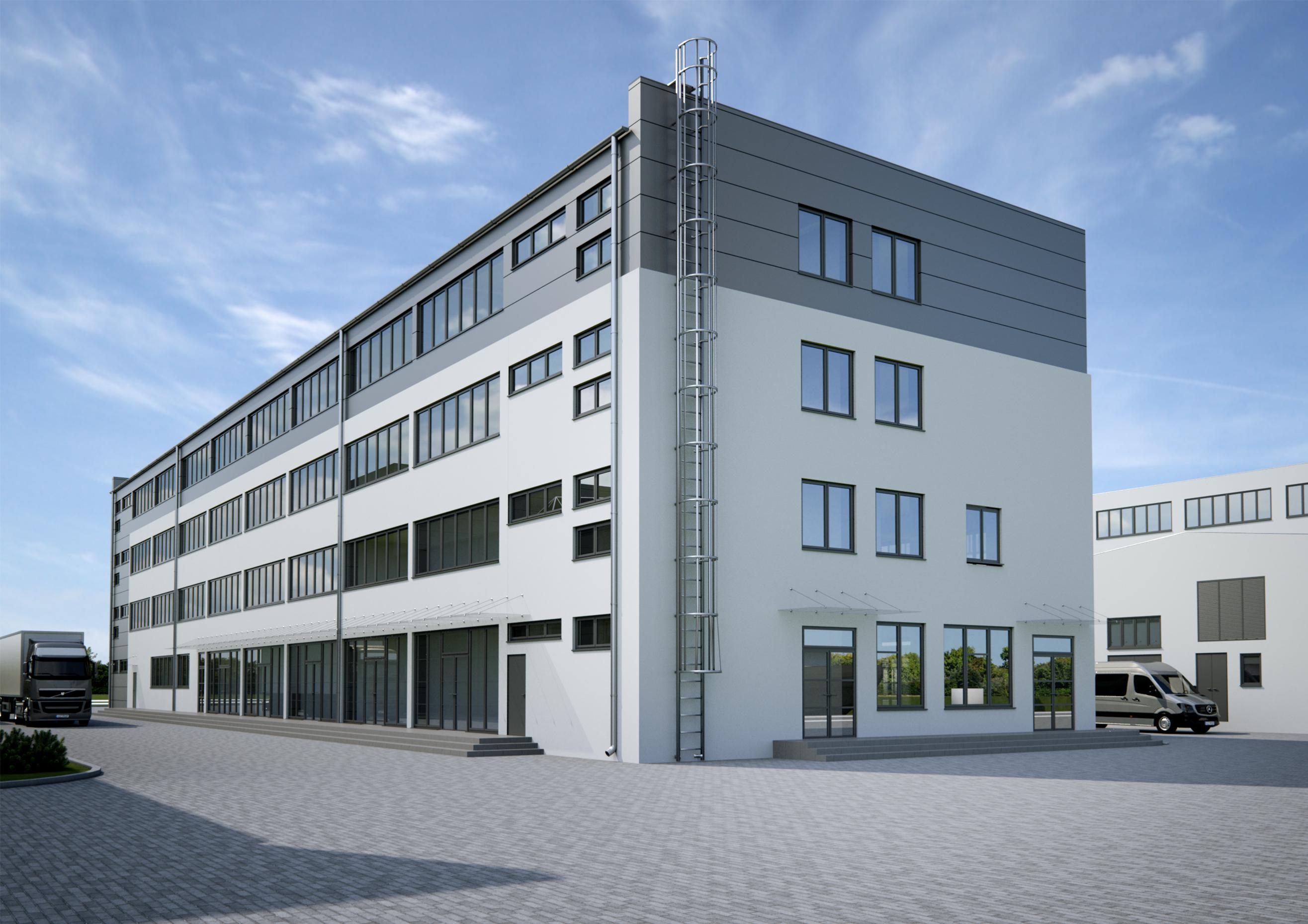 Rewitalizacja części biurowej Stoczni Pomerania