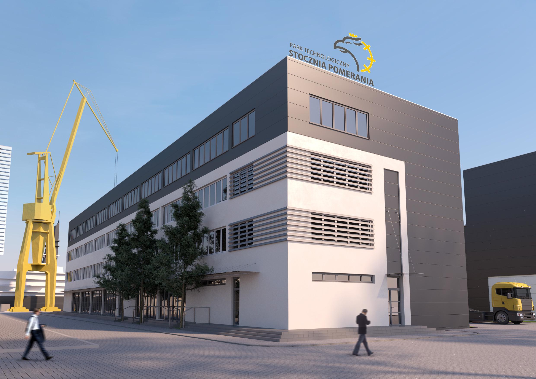 Nowy najemca rewitalizowanej części biurowej Stoczni Pomerania w Szczecinie