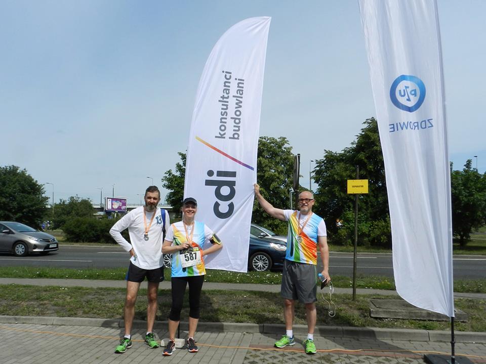 CDI jako partner biegu Kamienna 5