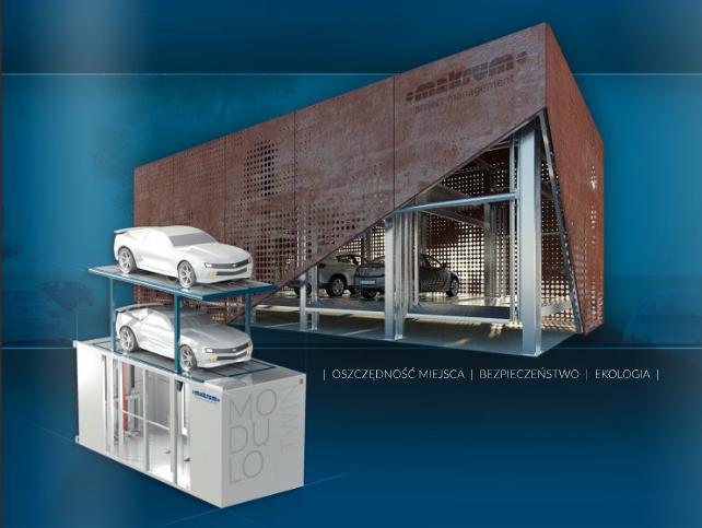 Folder automatycznych systemów parkingowych MODULO