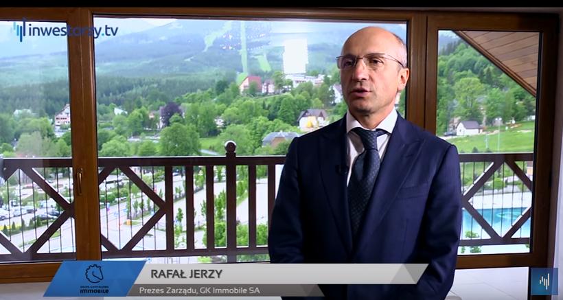 Prezes Rafał Jerzy w wywiadzie dla Inwestorzy.tv