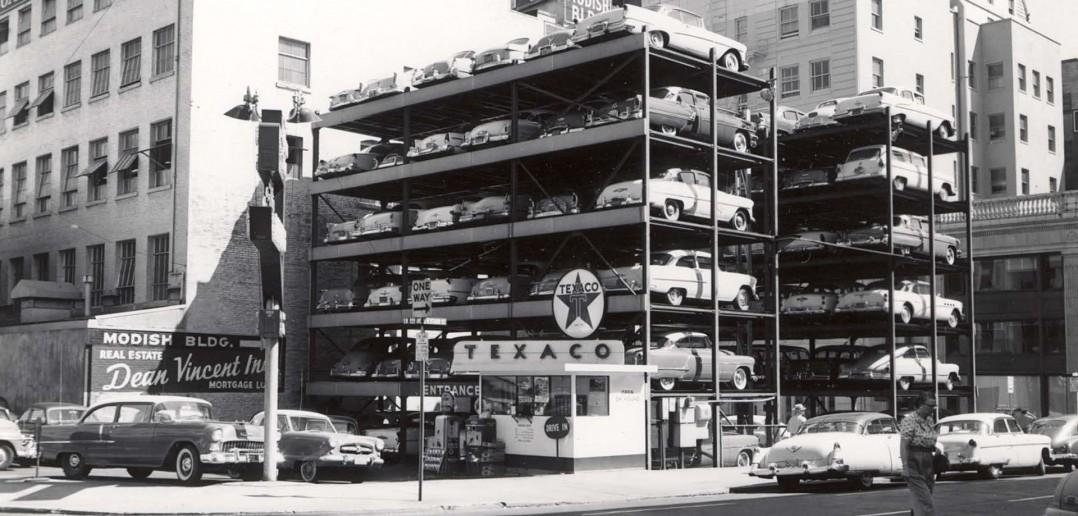 Historia rozwoju automatycznych systemów parkowania na świecie