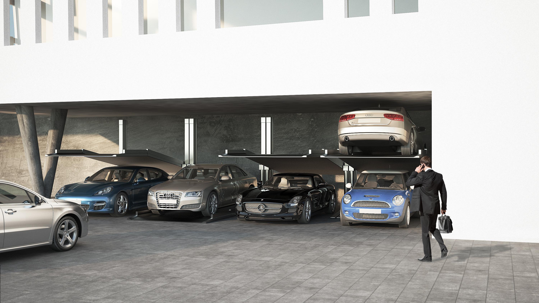 SLANT – najnowszy produkt w rodzinie parkingów MODULO