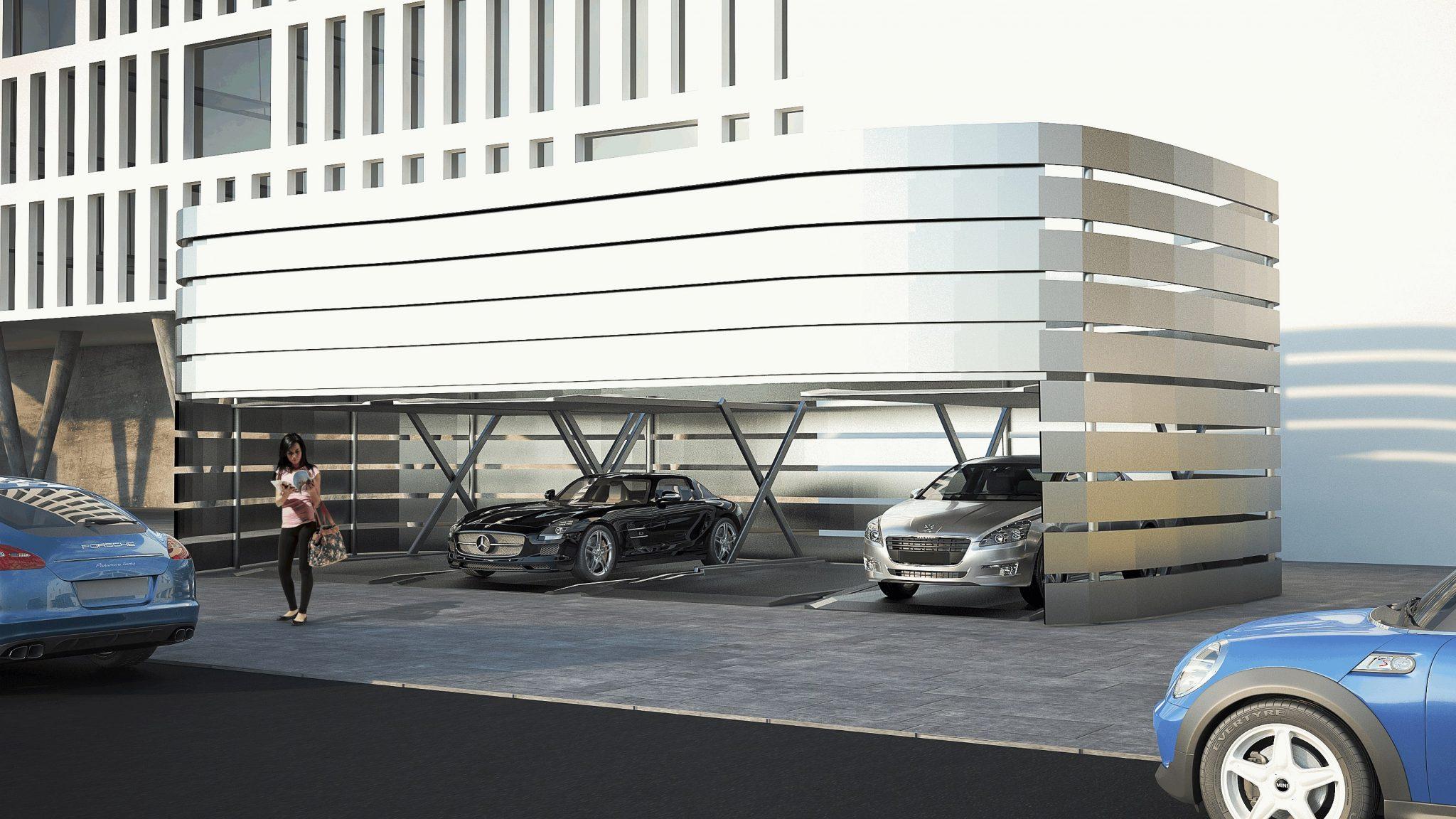 Najnowsze realizacje automatycznych parkingów MODULO