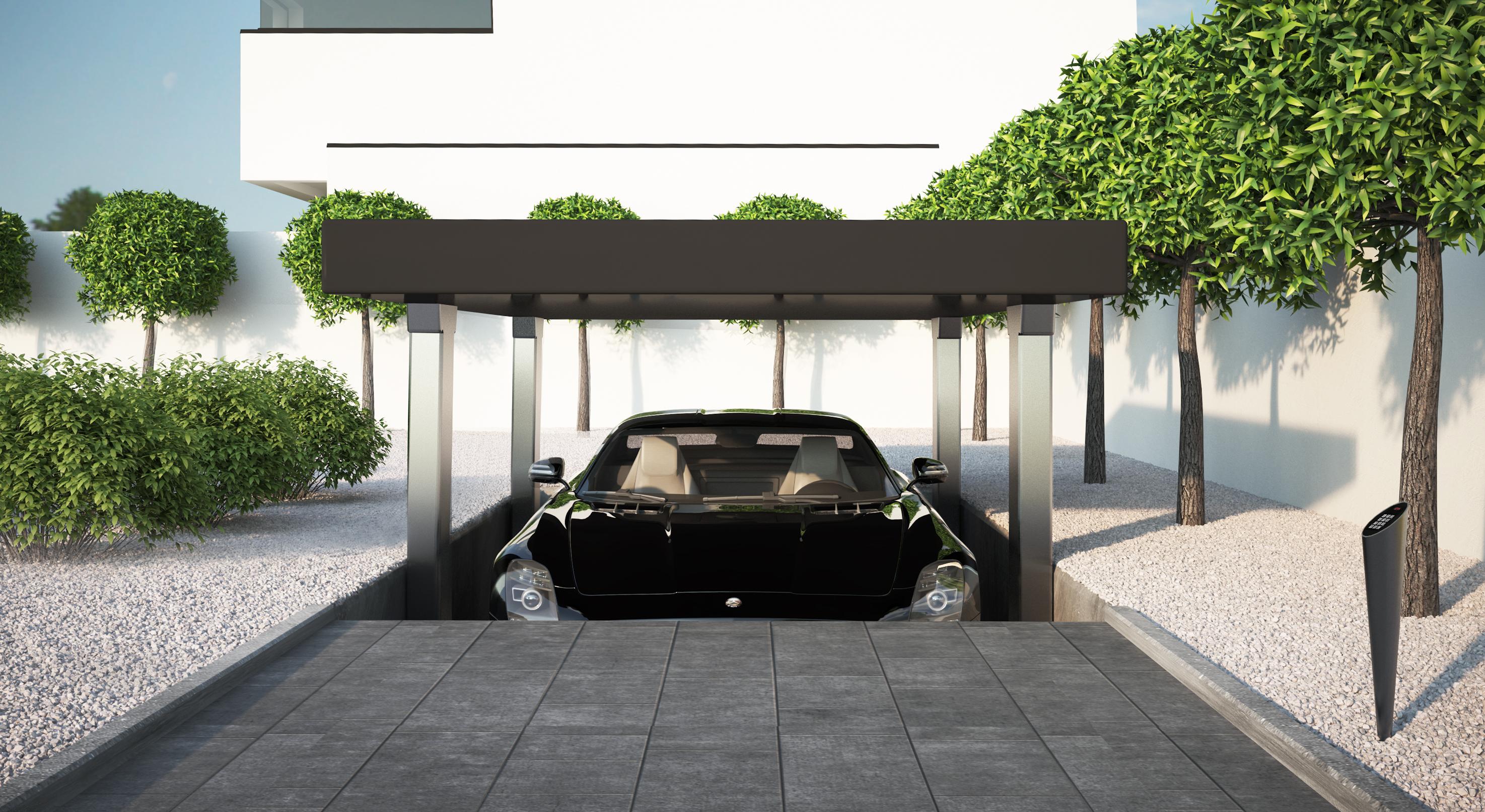 Systemy parkingowe MODULO w hotelu w Sopocie