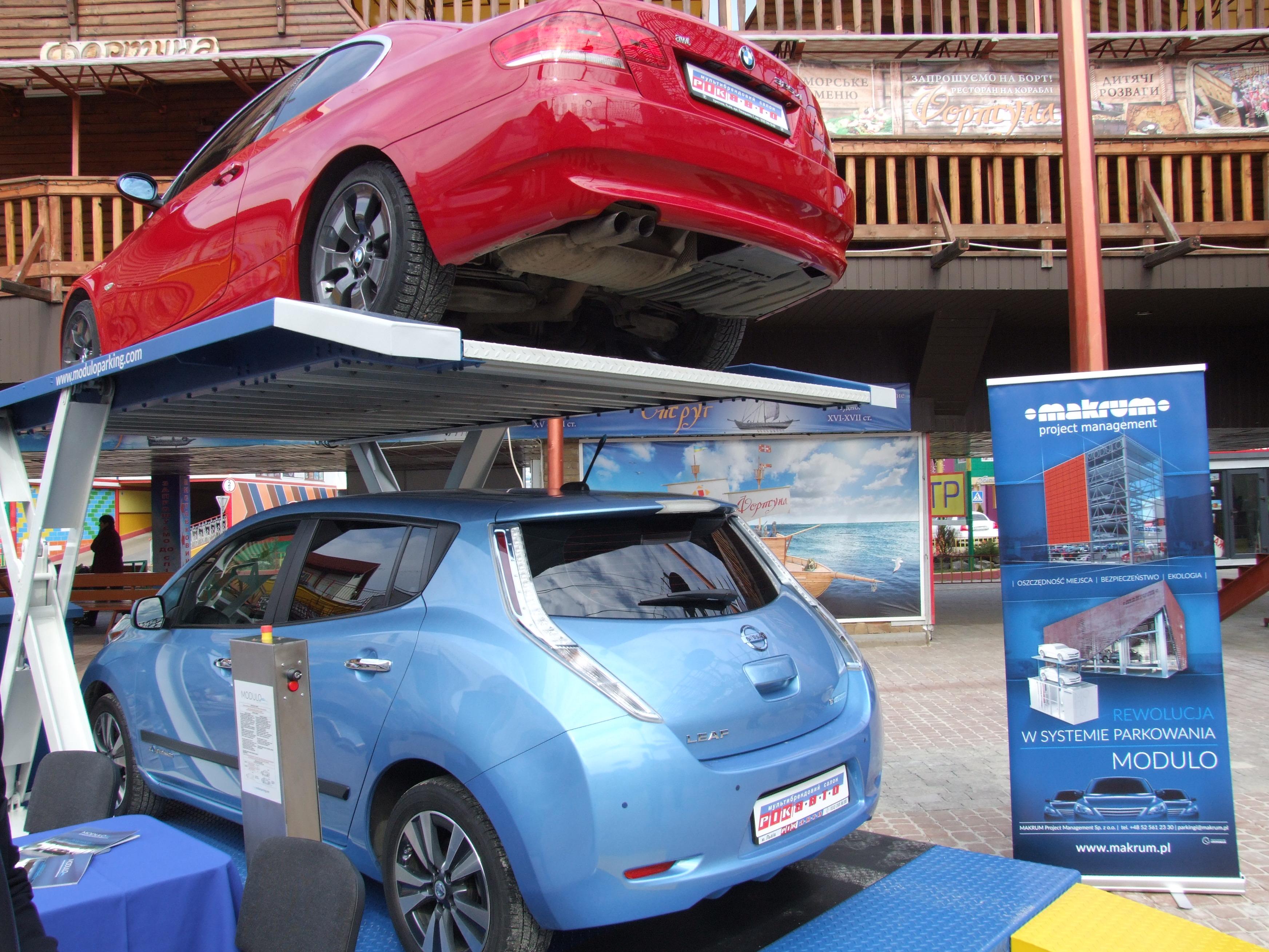 Prezentacja parkingów MODULO na Targach Budexpo na Ukrainie