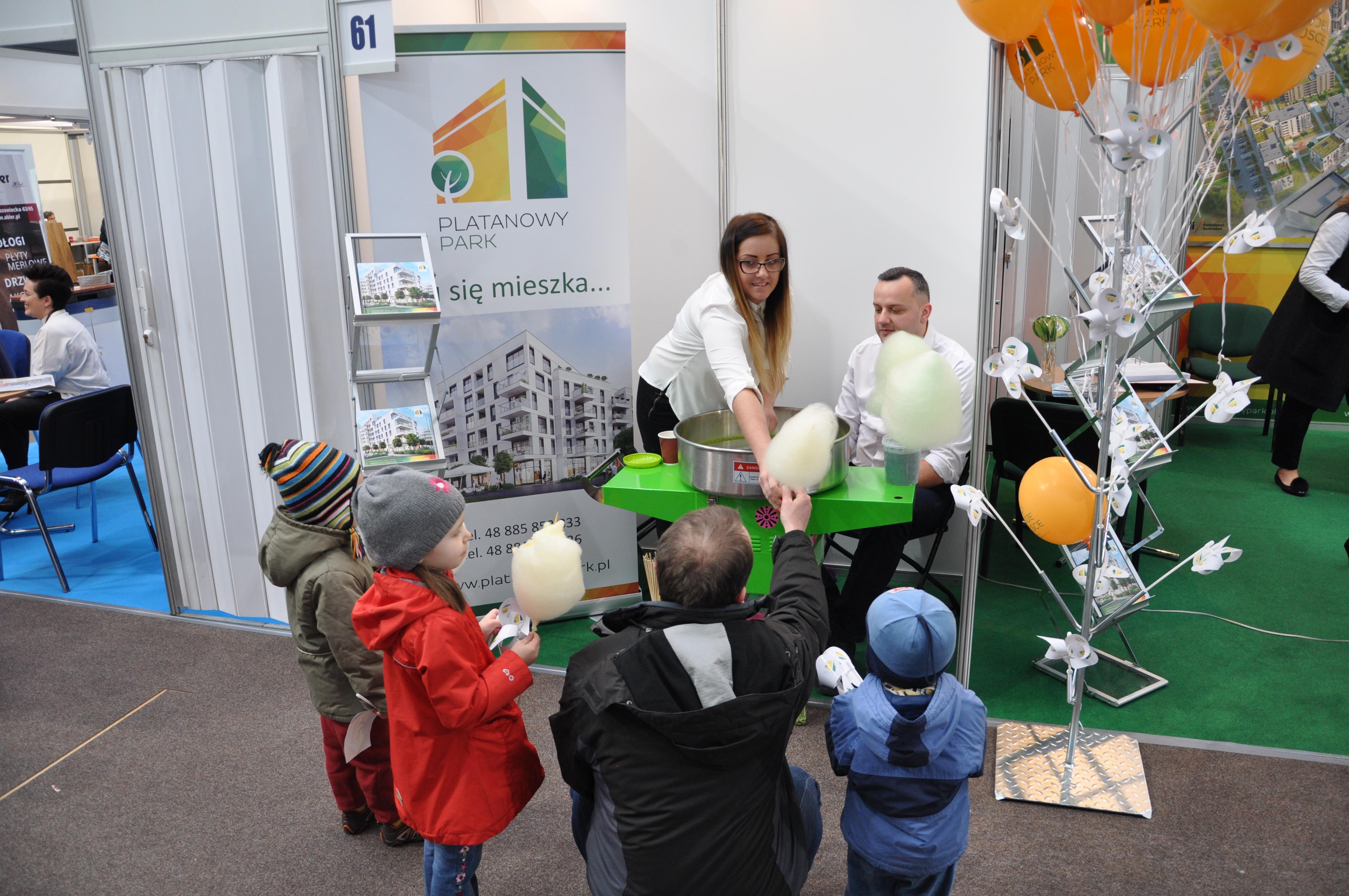 Prezentacja inwestycji Platanowy Park na Targach Mieszkaniowych