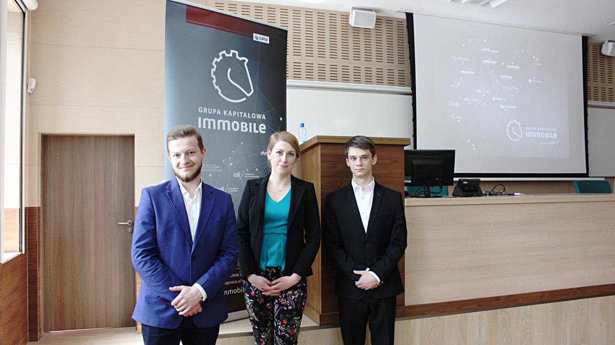 GK IMMOBILE z prelekcją o relacjach inwestorskich na Uniwersytecie Ekonomicznym we Wrocławiu