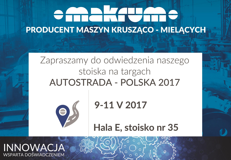 Prezentacja produktów sektora przemysłowego Grupy na Targach Autostrada i Europarking