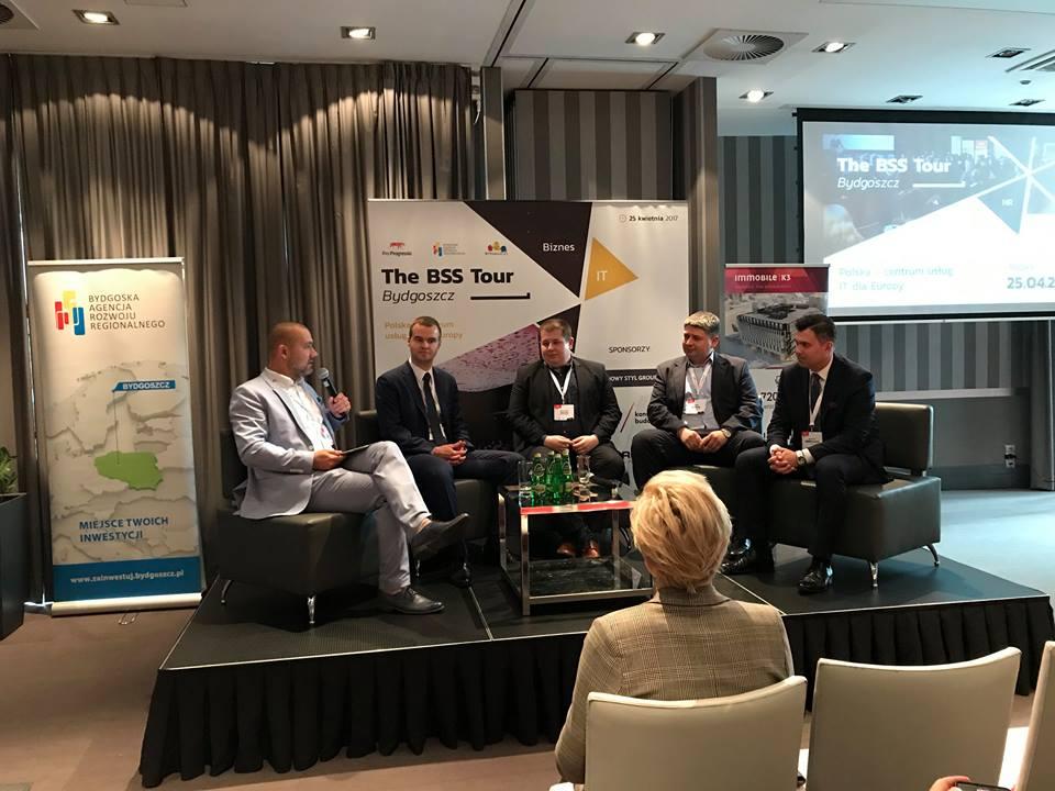 Przedstawiciele sektora deweloperskiego Grupy na konferencji poswięconej przestrzeni biurowej dla branży IT