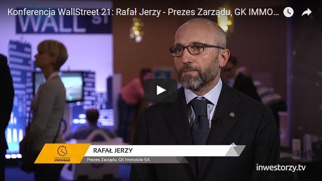 Komentarz Prezesa Rafała Jerzego do wyników dla Inwestorzy.tv