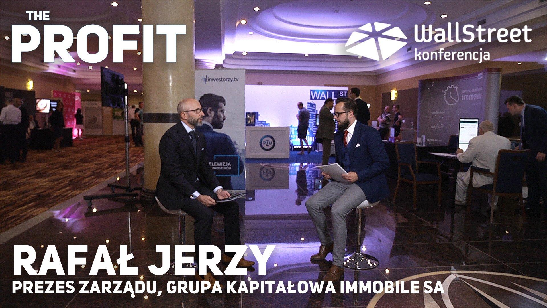 Prezes Rafał Jerzy w rozmowie z Marcinem Gawędą (video)