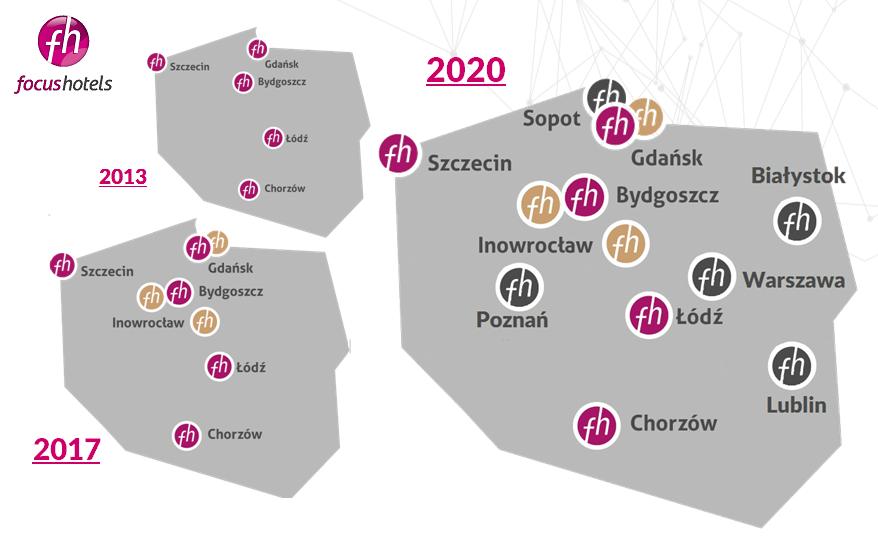 Sieć hoteli Focus – droga do pozycji lidera rynku
