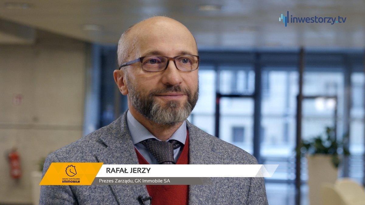 Prezes Rafał Jerzy dla Inwestorzy.tv