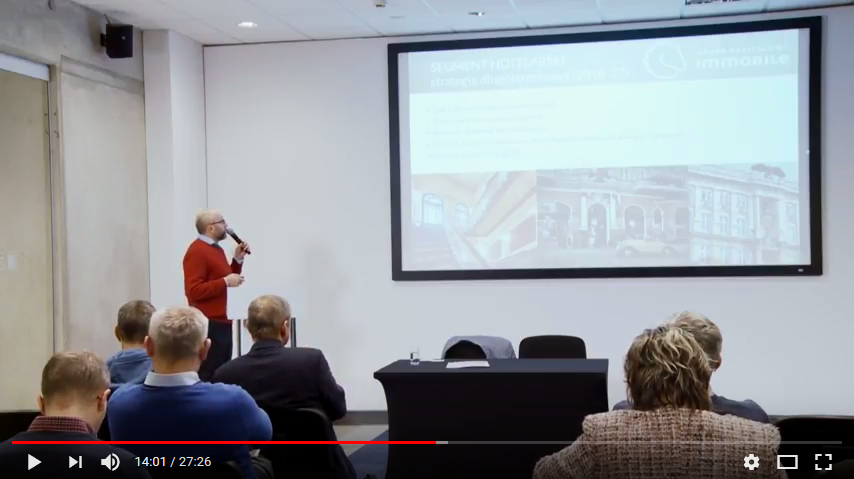 Video recording of the conference broadcast discussing the company's strategy