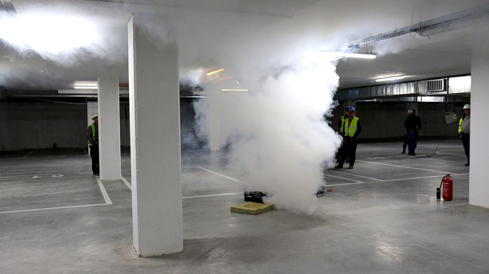 Trial smoke test and visit of students – construction of the IMMOBILE K3 is approaching the finals