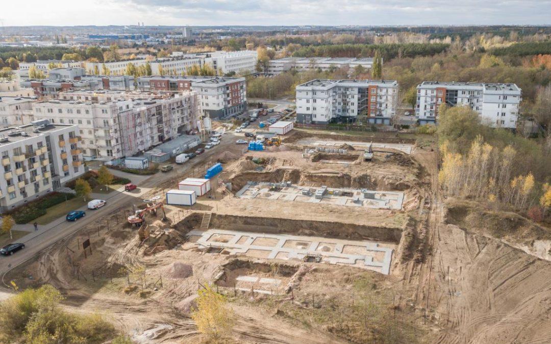 Osiedle Uniwersyteckie – pierwszy dziennik budowy