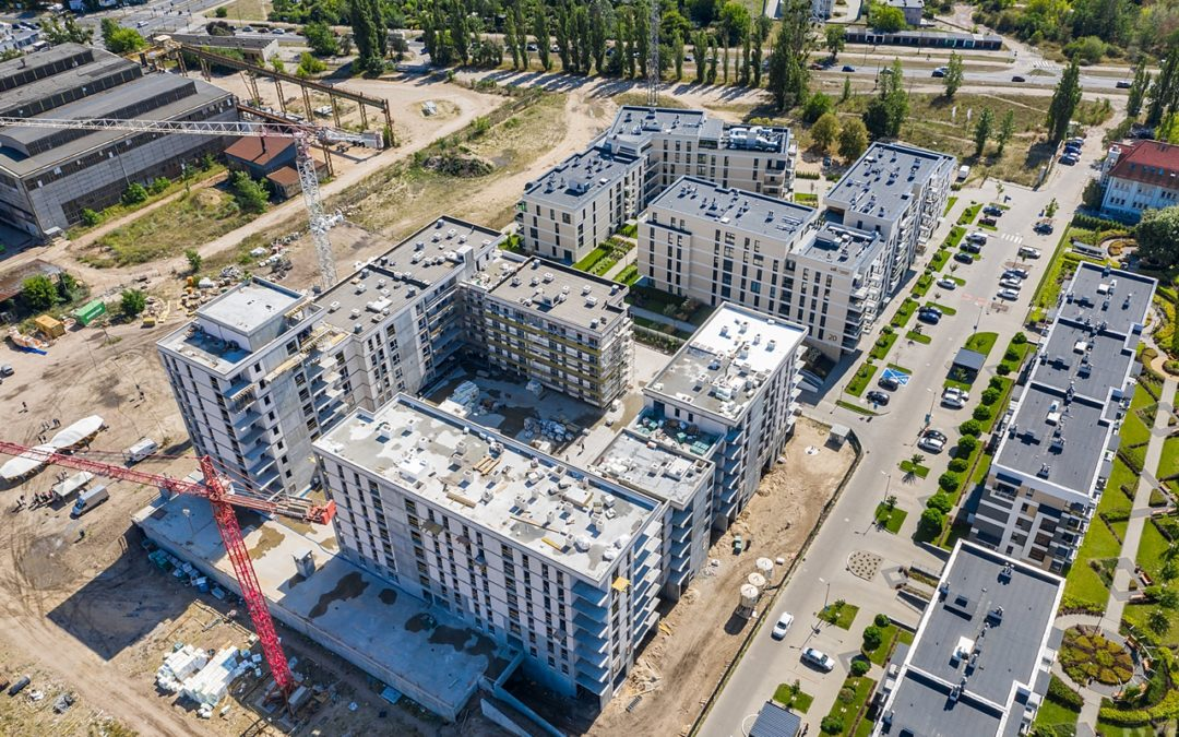 Closing ceremony of the construction phase on the 2nd stage of Platanowy Park