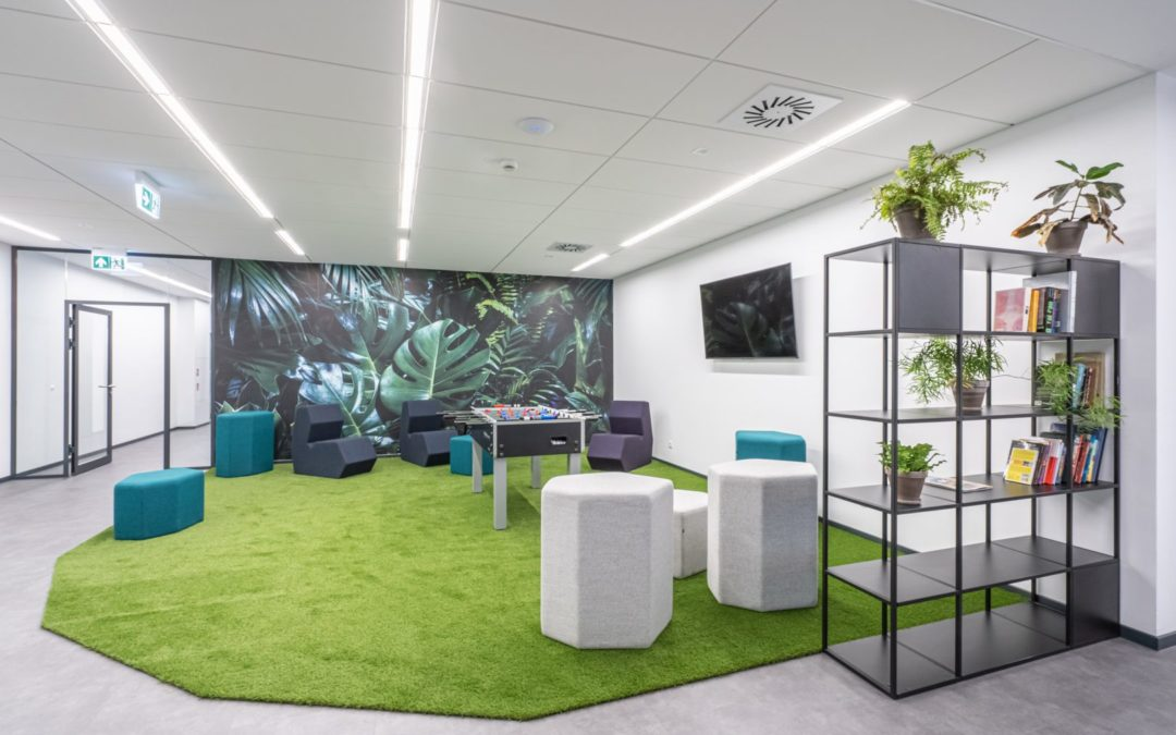 """""""Office with a view of Bydgoszcz"""" – Outsourcing & More magazine about IMMOBILE K3"""