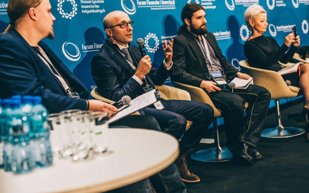 Grupa Kapitałowa IMMOBILE at the Forum Finansów i Inwestycji in Warsaw