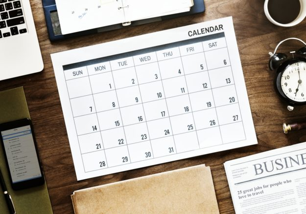 Dates of publication of periodic reports in 2020