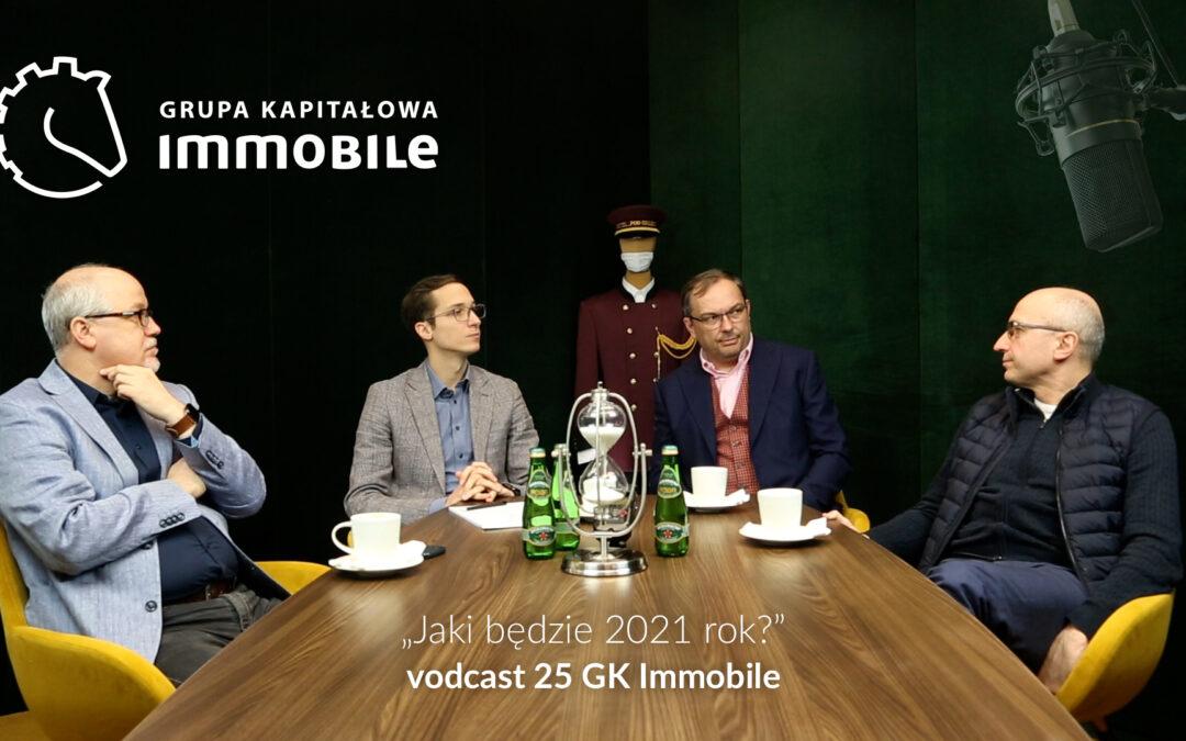 Jaki będzie 2021 rok? – cotygodniowy videodcast Grupy Kapitałowej IMMOBILE