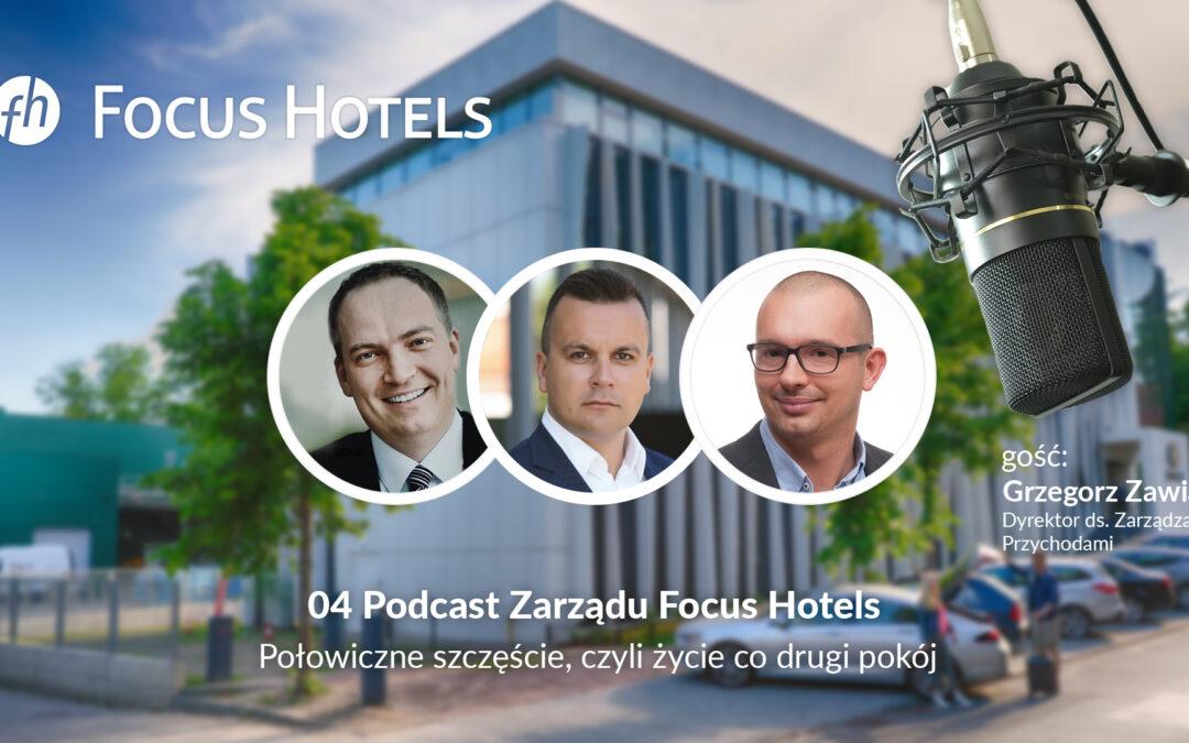 Połowiczne szczęście, czyli życie co drugi pokój – podcast #4 Focus Hotels S.A