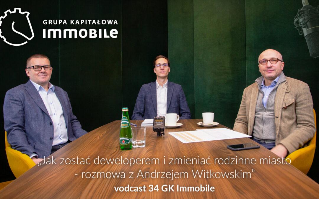 Jak zostać deweloperem i zmieniać rodzinne miasto – cotygodniowy videodcast Grupy Kapitałowej IMMOBILE