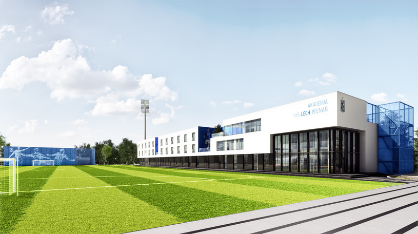 Projprzem Budownictwo will build the Research and Development Center of the Lech Poznań Academy
