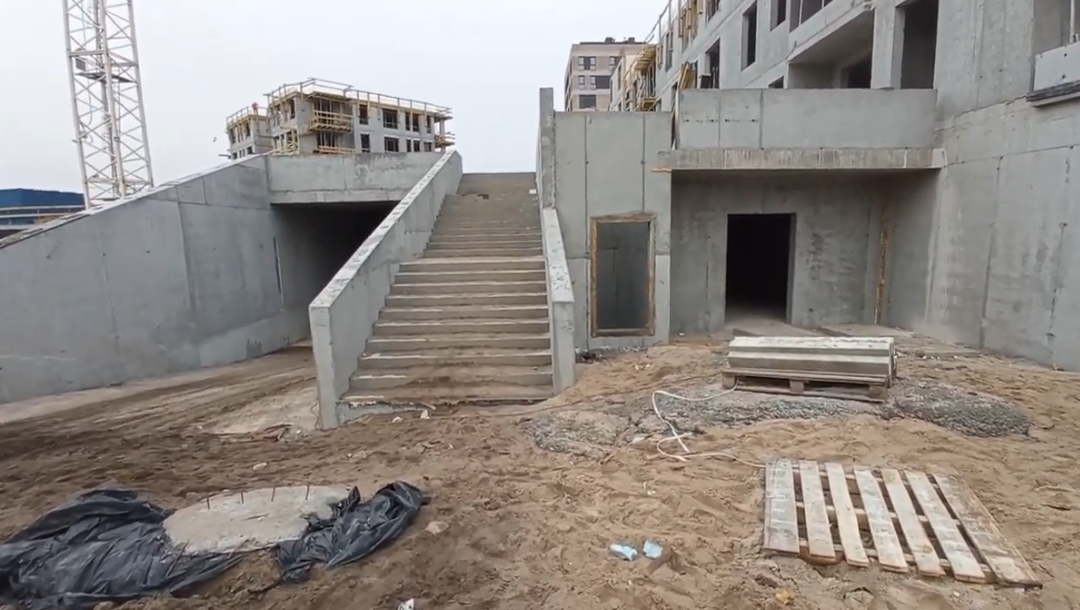 Walk around the construction of the 3rd stage of Platanowy Park (video)