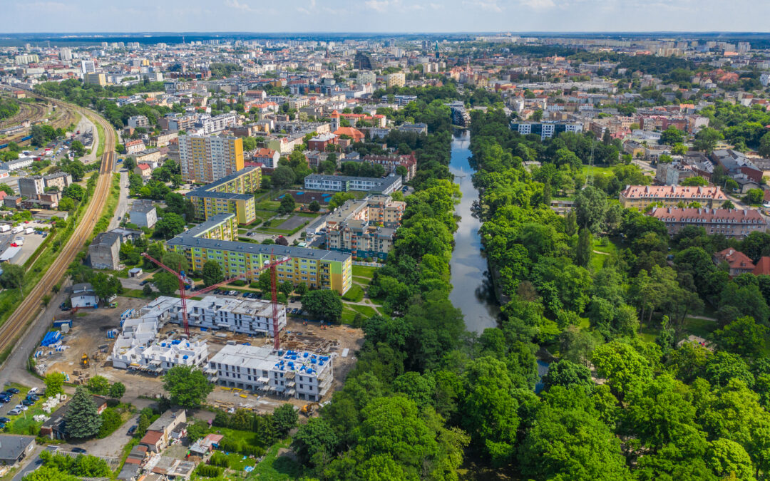 The first report from construction of the first stage of the Rabatki estate in Bydgoszcz