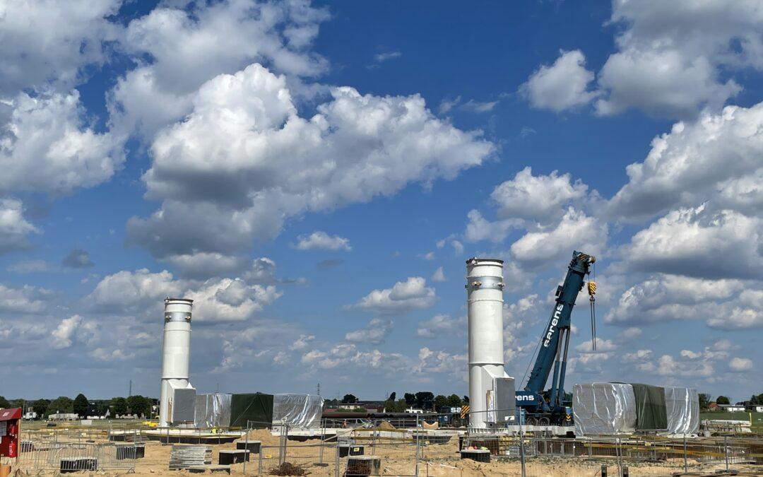 Ważny etap realizacji rozbudowy Tłoczni Gazu Odolanów z udziałem Atrem, PJP Makrum i Projprzem Budownictwo
