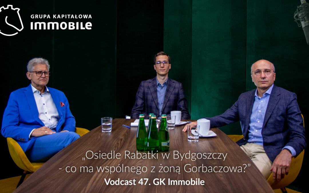 Osiedle Rabatki w Bydgoszczy – co ma wspólnego z żoną Gorbaczowa? – cotygodniowy vodcast Grupy Kapitałowej IMMOBILE