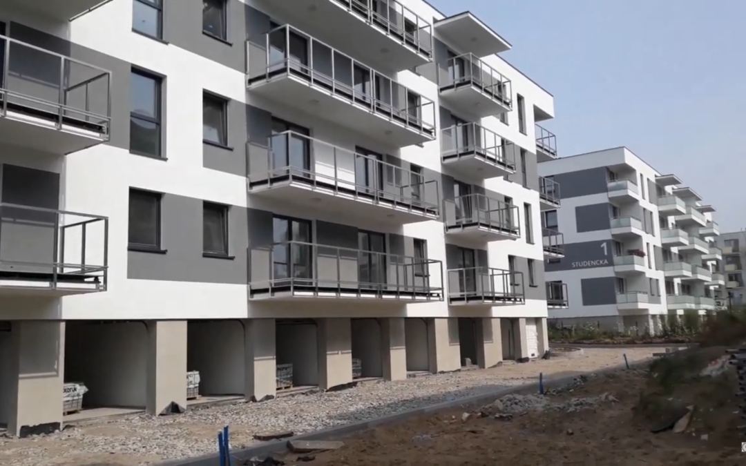News from the construction of the Osiedle Uniwersyteckie (video)