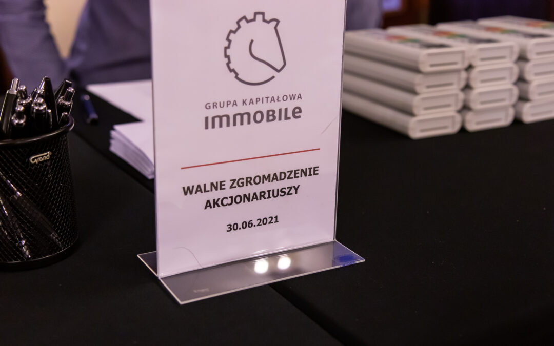 About the last General Meeting of Shareholders of the IMMOBILE Group